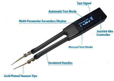 Smart Tweezers Features